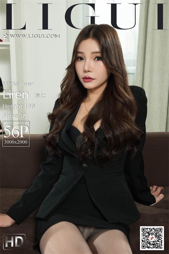 [Ligui丽柜]2020.03.24《职场新秀》-李仁[56+1P/120M]